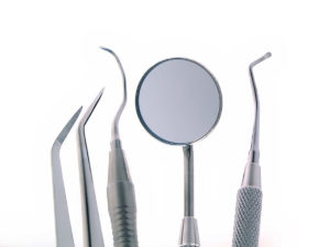 Mouth Mirror, Dental Sickle, and Scalers