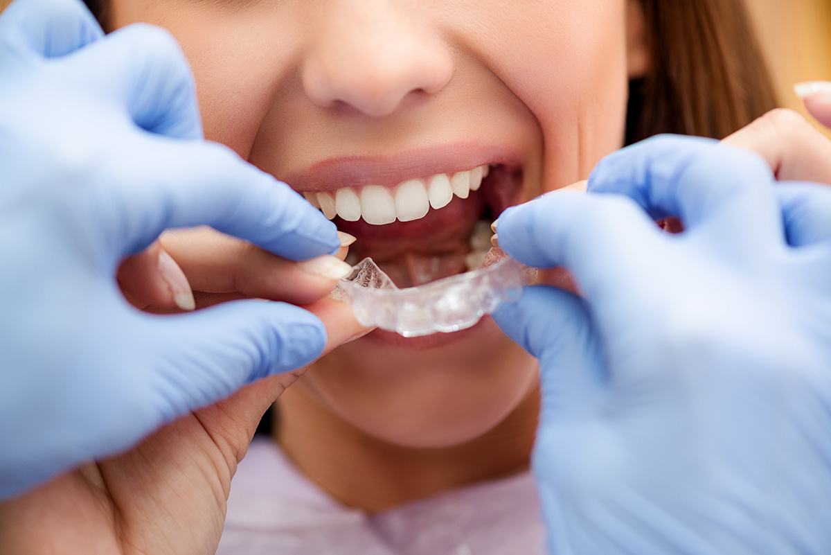 An orthodontist dentist that makes the methods of correcting the wrong bite 71