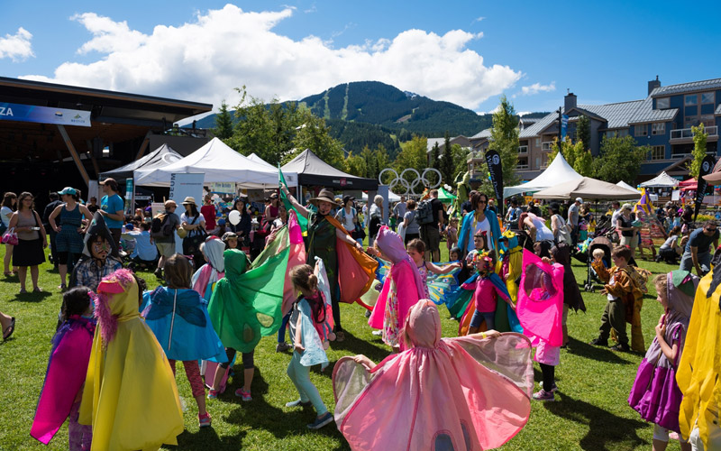 Whistler Children's Festival in Whistler