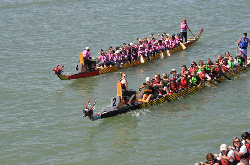 Steveston Dragon Boat Festival in Richmond