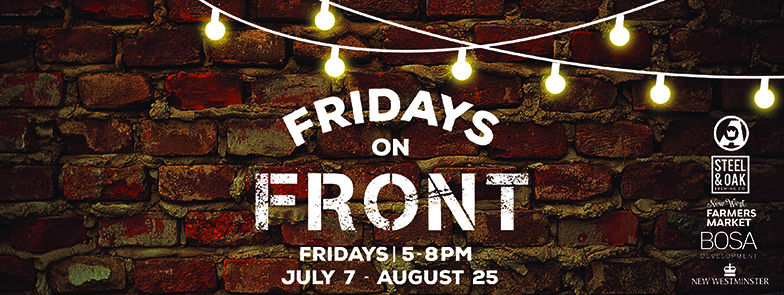 Fridays on Front in New Westminster