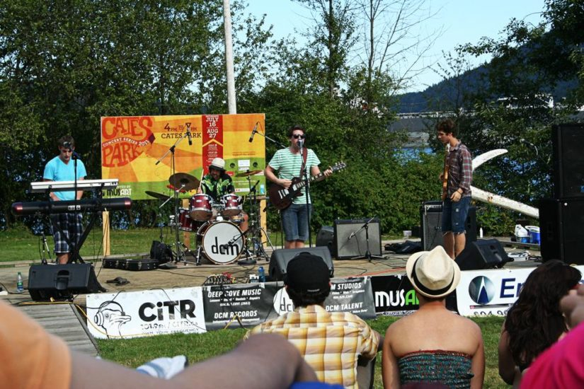 Cates Park Concerts in North Vancouver