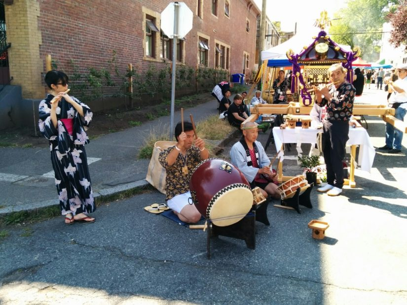 The Japanese-Canadian Powell Street Festival in Vancouver