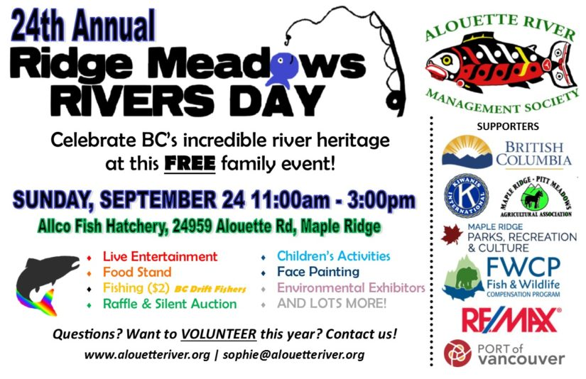 Annual Ridge Meadows Rivers Day in Maple Ridge