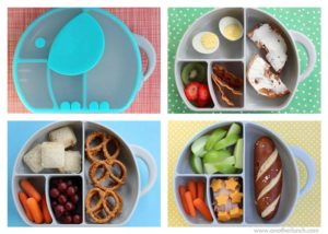 Fun lunch boxes make meals more fun.