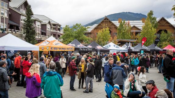 Whistler Village Beer Festival in Whistler