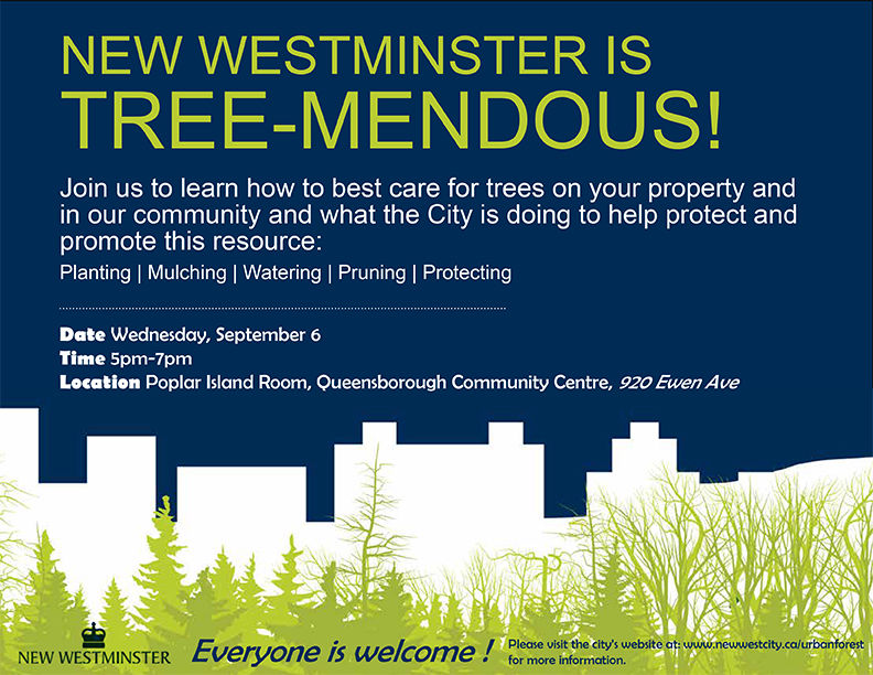 Tree Care Workshop in New Westminster