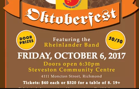 Oktoberfest featuring the Rheinlander Band in Richmond