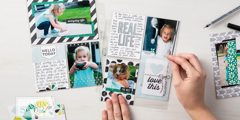 Memory Keeping Mondays – Monthly Scrapbooking Class in Port Coquitlam
