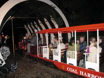 Ghost Train in Stanley Park in Vancouver