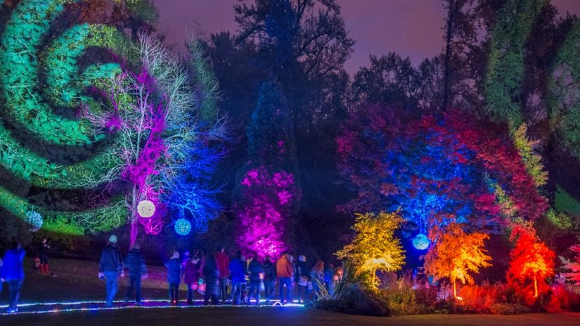 Garden Light Festival at Bear Creek Park in Surrey