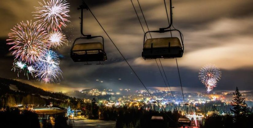 New Years Eve Celebration in Whistler