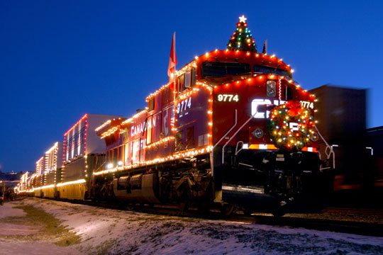 CP Holiday Train in Maple Ridge in Maple Ridge