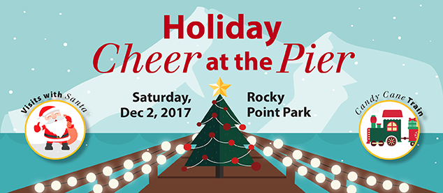 Holiday Cheer at the Pier! in Port Moody