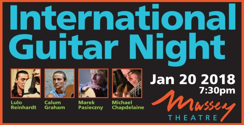 International Guitar Night in New Westminster