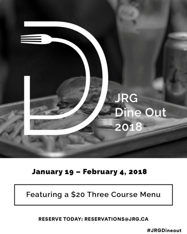 JRG Dine Out 2018 in Maple Ridge