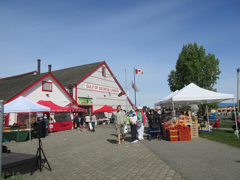 Cannery Farmers' Market in Richmond