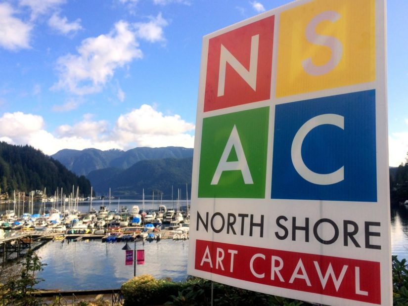 North Shore Art Crawl in North Vancouver