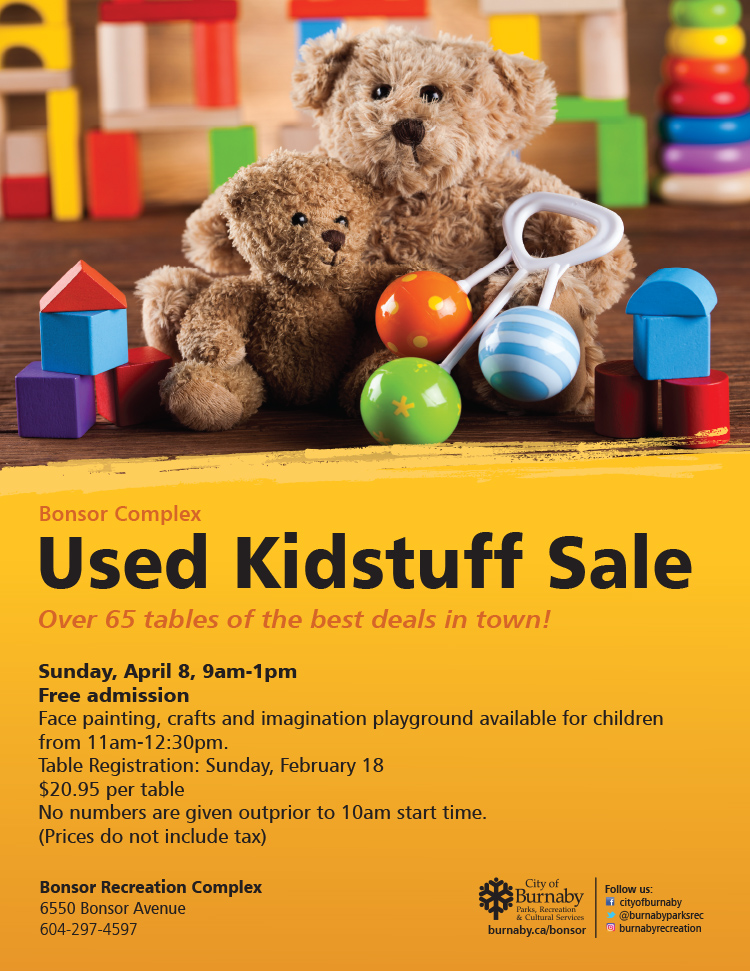 Used Kidstuff Sales in Burnaby