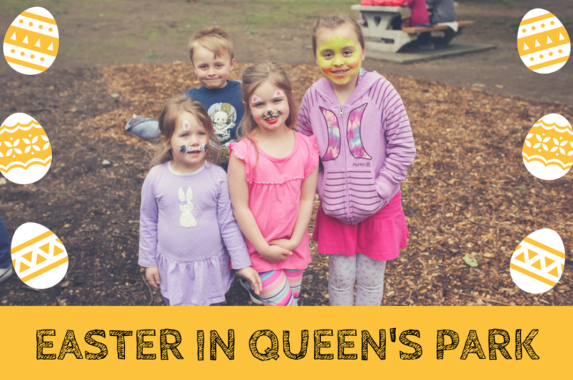 Easter in Queen's Park in New Westminster
