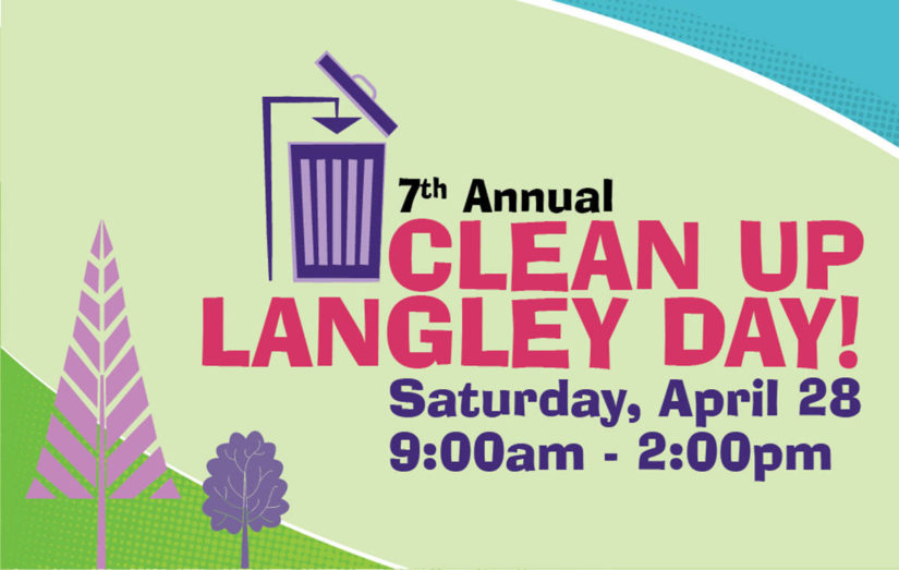 Clean Up Langley Day in Langley