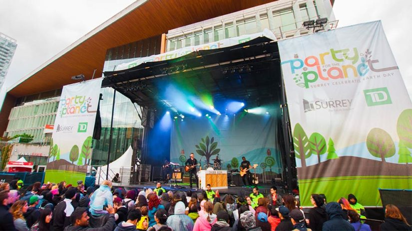 Party for the Planet in Surrey