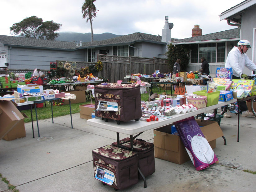Annual Queens Park Garage Sale in New Westminster