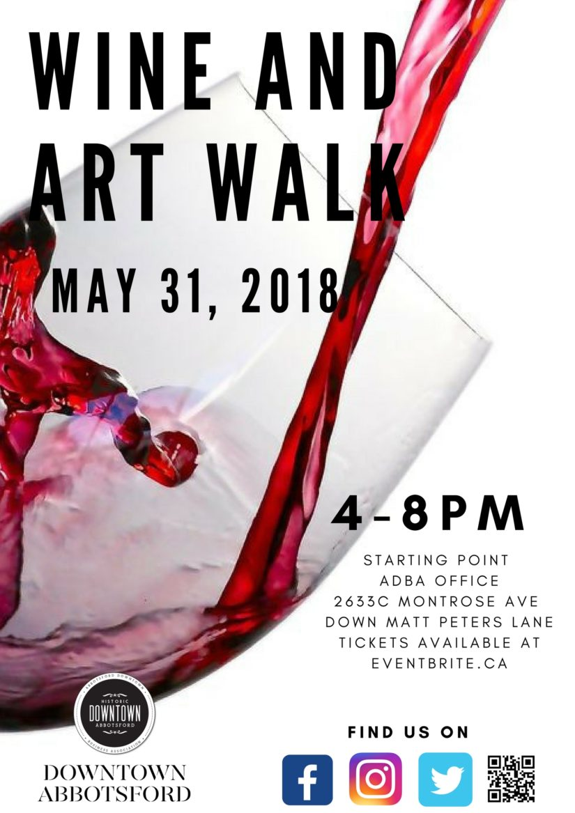 2018 Wine & Art Walk in Abbotsford