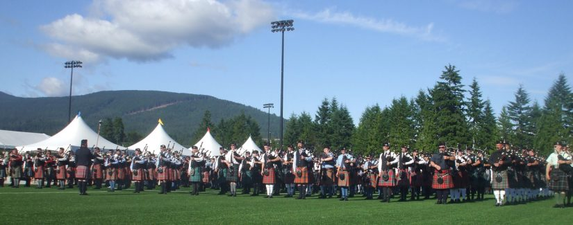 BC Highland Games in Coquitlam