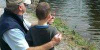Father's Day Fish Release