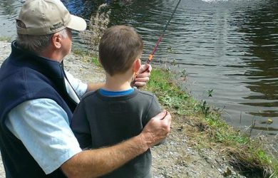 Father's Day Fish Release in Maple Ridge