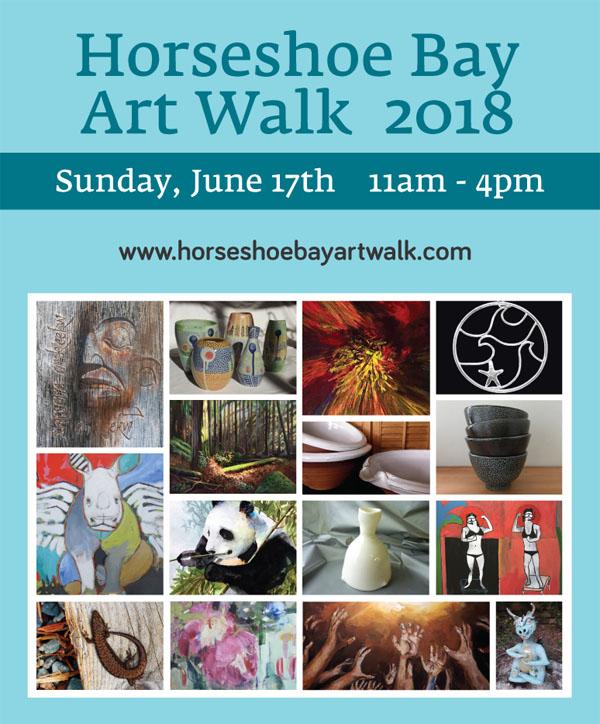 Horseshoe Bay Art Walk in West Vancouver
