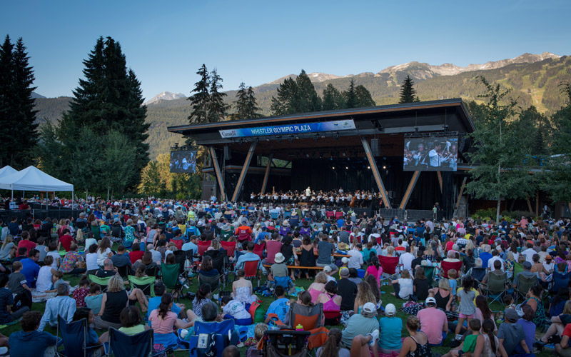 Vancouver Symphony Orchestra in Whistler