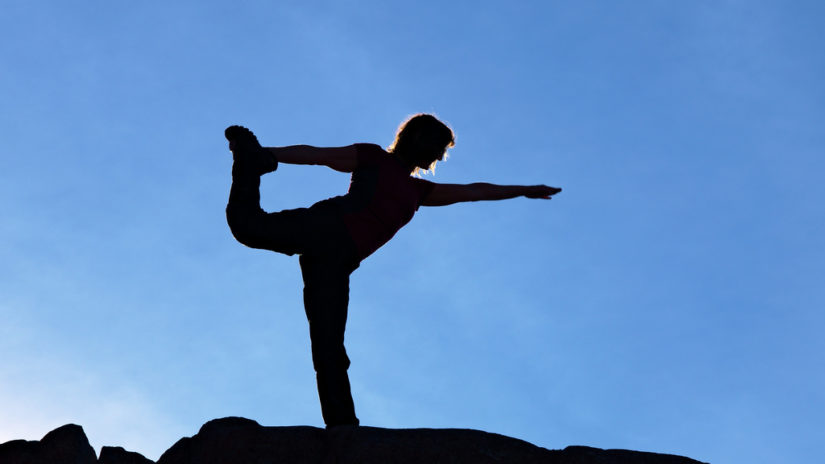 Season of Peak Yoga on Grouse Mountain in North Vancouver