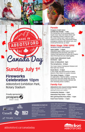 Canada Day in Abbotsford