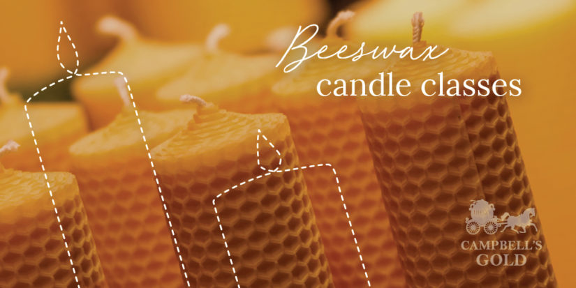 Beeswax Candle Classes in Langley