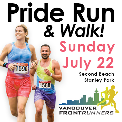 Pride Run & Walk! in Vancouver