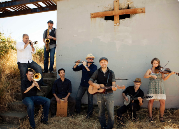 Music On The Grill: The Paperboys in Coquitlam