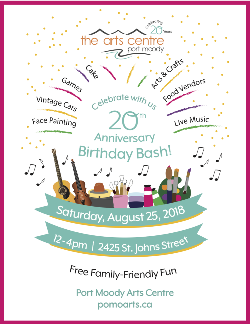 20th Anniversary Birthday Bash in Port Moody