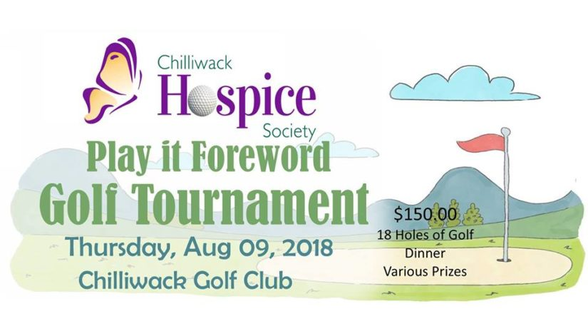 Play it Foreward Golf Tournament in Chilliwack