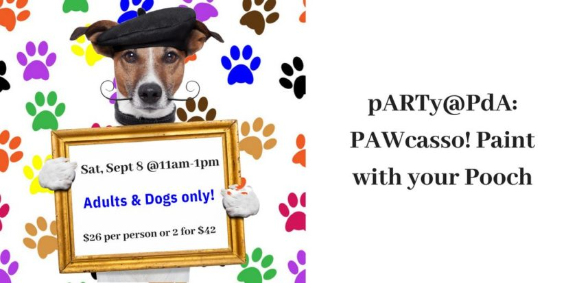 PAWcasso! Paint with your Pooch 2018 in Coquitlam