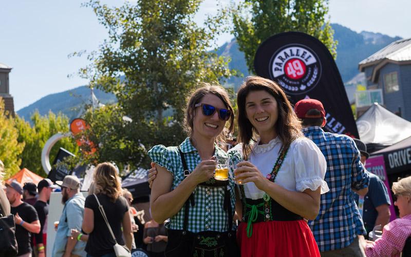 Whistler Village Beer Festival 2018 in Whistler