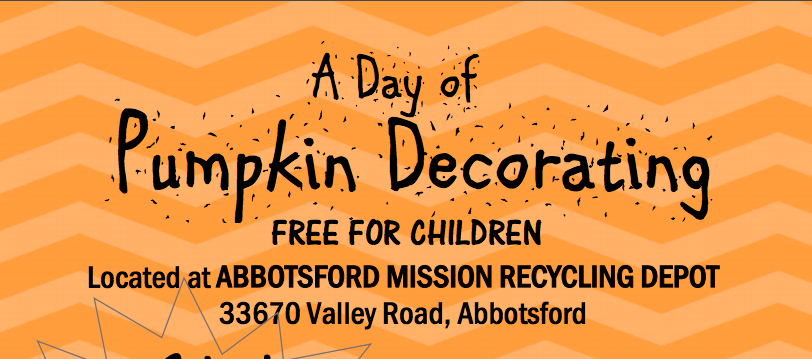 A Day of Pumpkin Decorating in Abbotsford