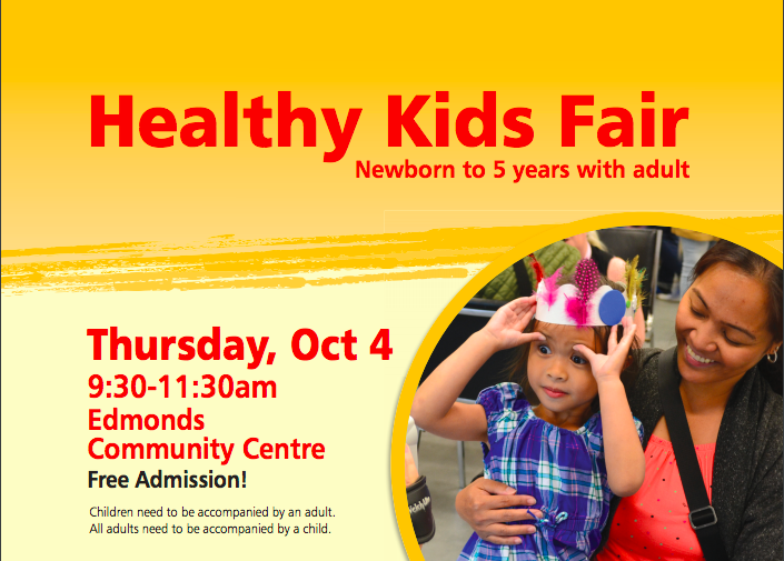 Healthy Kids Fair 2018 in Burnaby