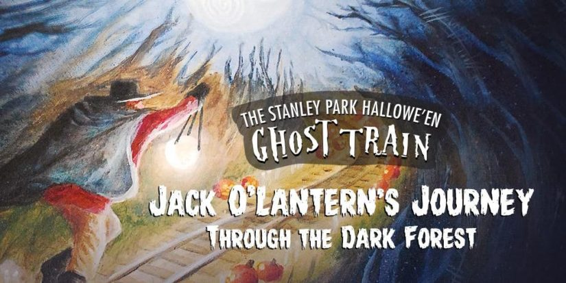 Vancouver's Stanley Park Halloween Ghost Train 2018 in Vancouver