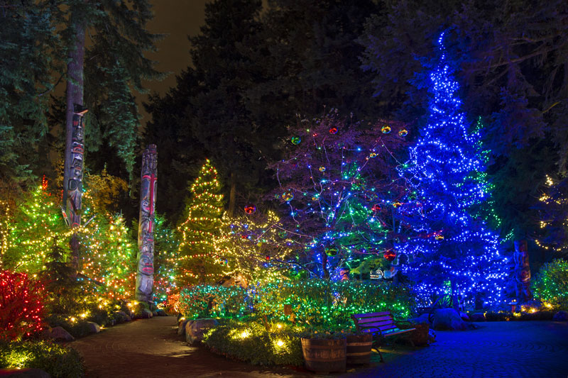 Canyon Lights 2018 in North Vancouver