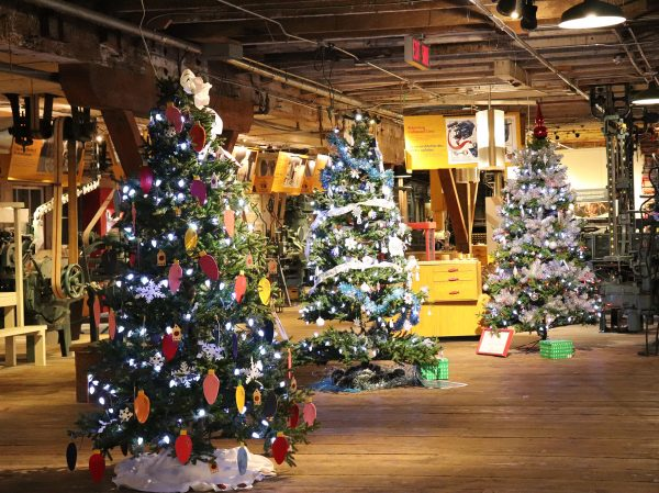 Christmas Tree Festival Awards Ceremony in Port Coquitlam