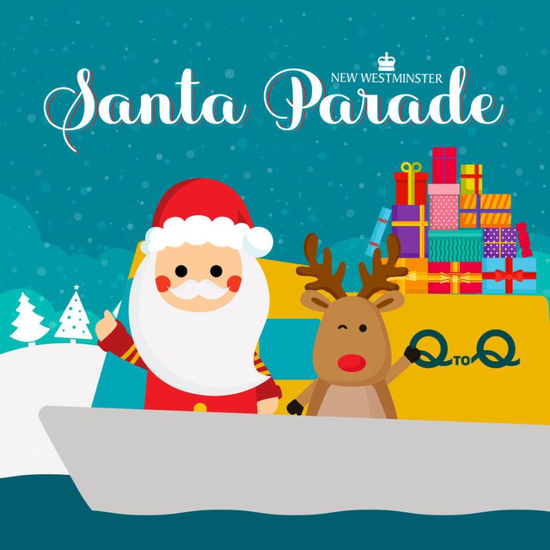 Santa Claus Parade in New Westminster in New Westminster