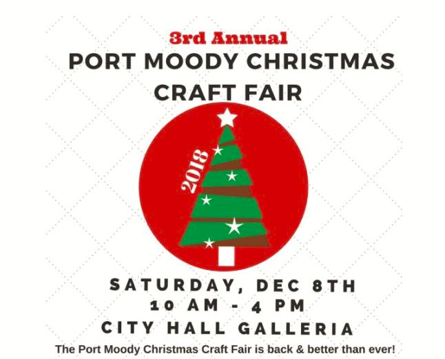 3rd Annual Port Moody Christmas Craft Fair in Port Moody