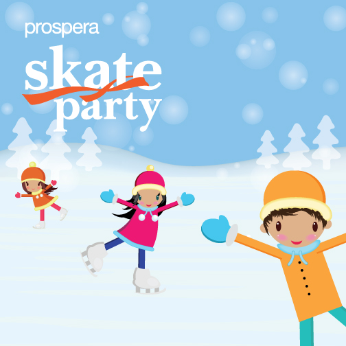 Prospera Skate Party in Chilliwack